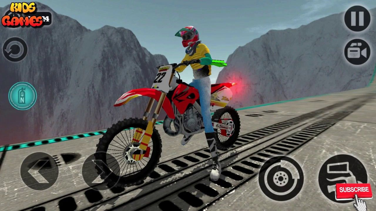 Motorbikes For Kids Games Android 2017, Bike Games Videos, Best ...