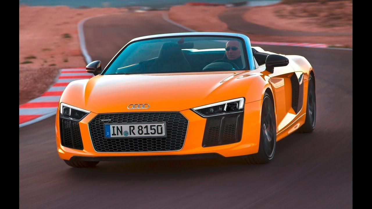 2017 audi r8 spyder vegas yellow test drive
