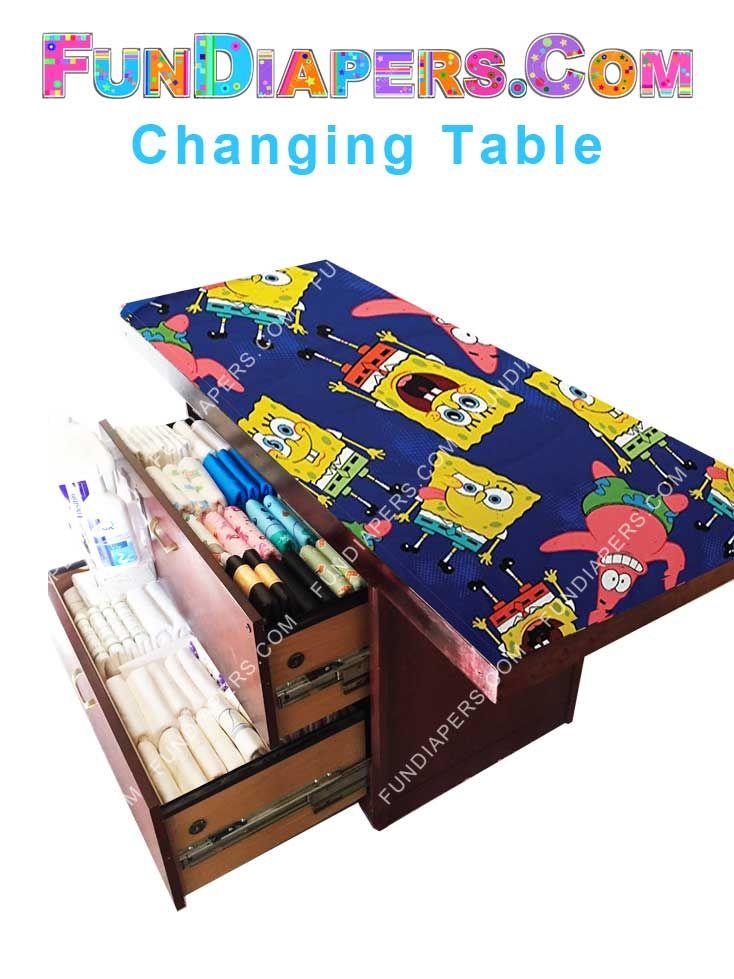 Spongebob Adult Diaper Changing Table
