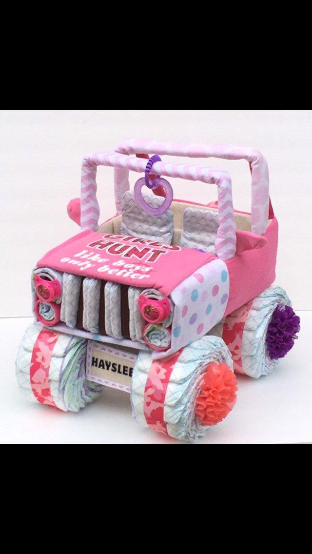 Pink Camo Jeep Pink Camo Baby Pink Camo Baby Shower Girls Hunt