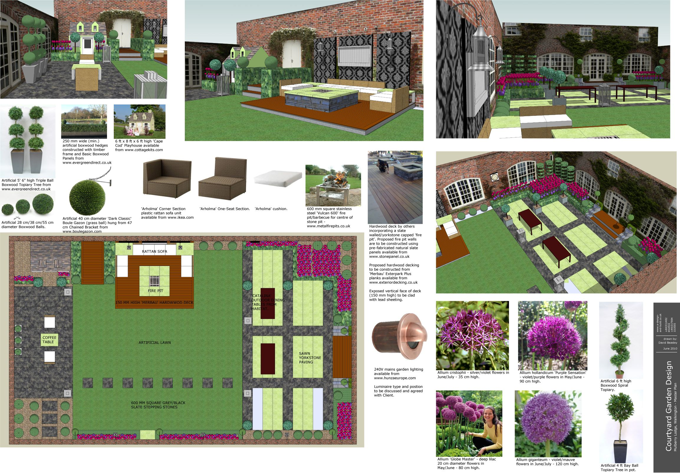 Modren 3d Garden Design Here Is A For Ideas