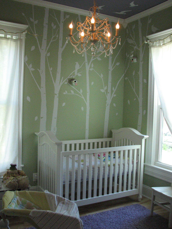 B y k derz er idee r b e for Wanddekoration babyzimmer
