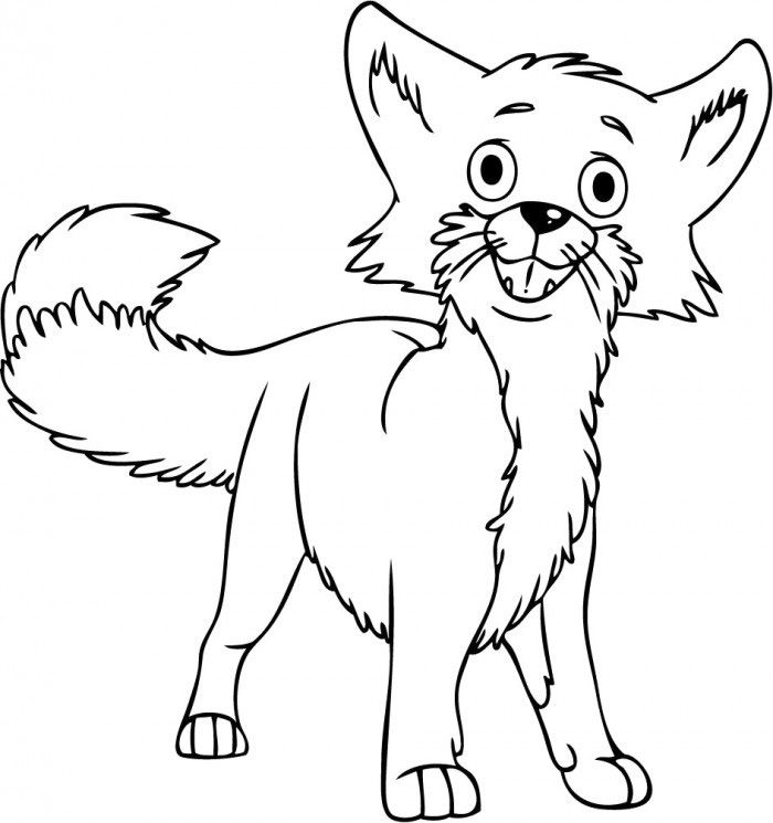 Fox Coloring Pages Free Printable http://procoloring.com/fox ...