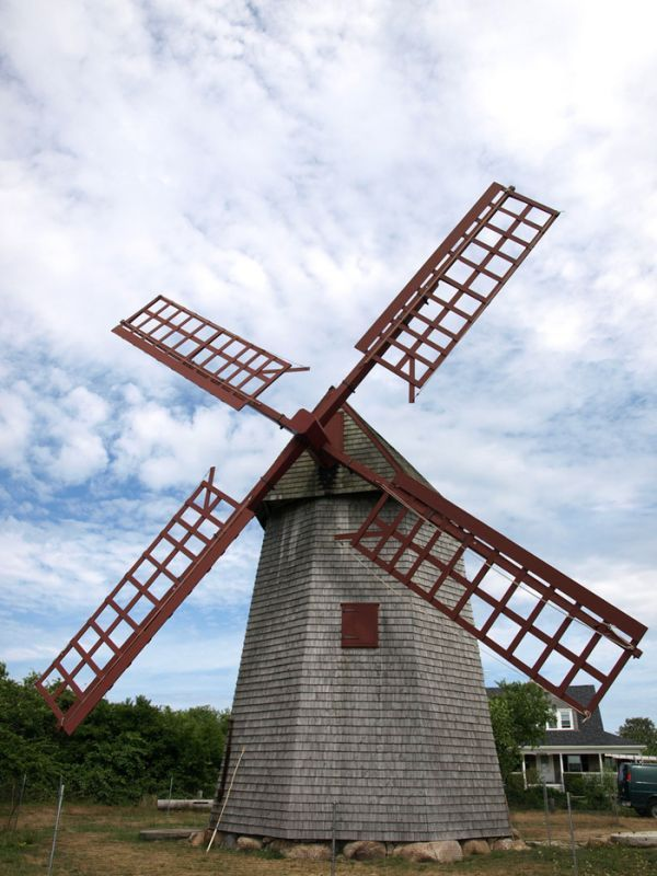 Nantucket's Old Mill
