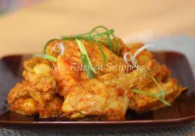 My Kitchen Snippets: Chicken in Tomato Sauce/Ayam Masak Tomato