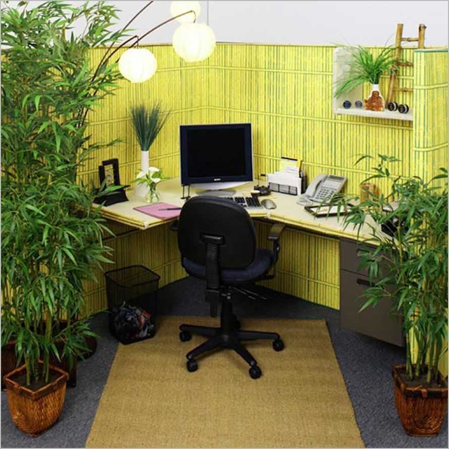 Natural Concept Small Office Nature Concept In Interior Design