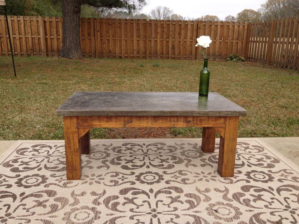 Concrete Coffee Table For Sale