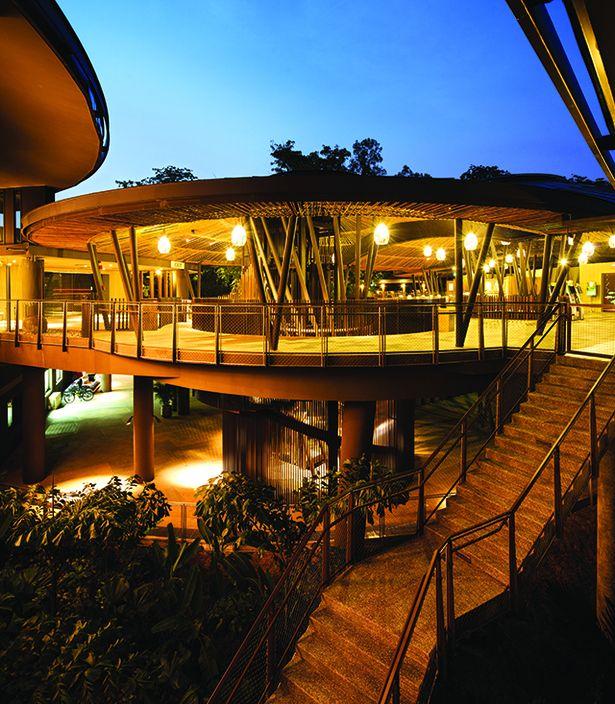 River Safari Zoo Architecture Dp Architects Singapore Zoo