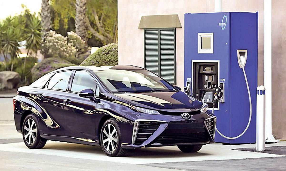 Here come the hydrogen stations Hydrogen fuel cell, Fuel