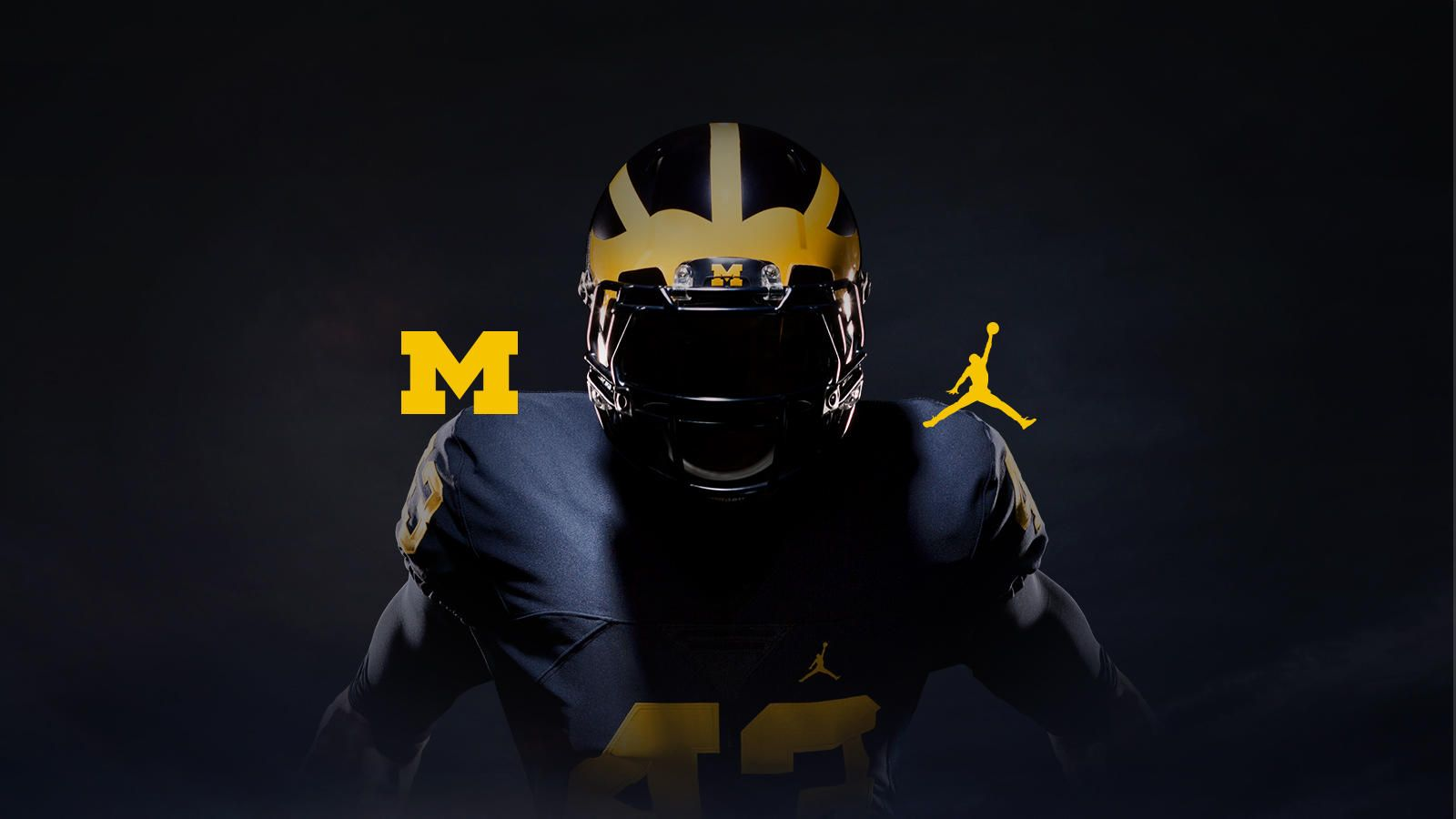 Forged For Greatness Jordan Brand X Michigan College Football Uniforms Michigan Football Michigan Wolverines Football