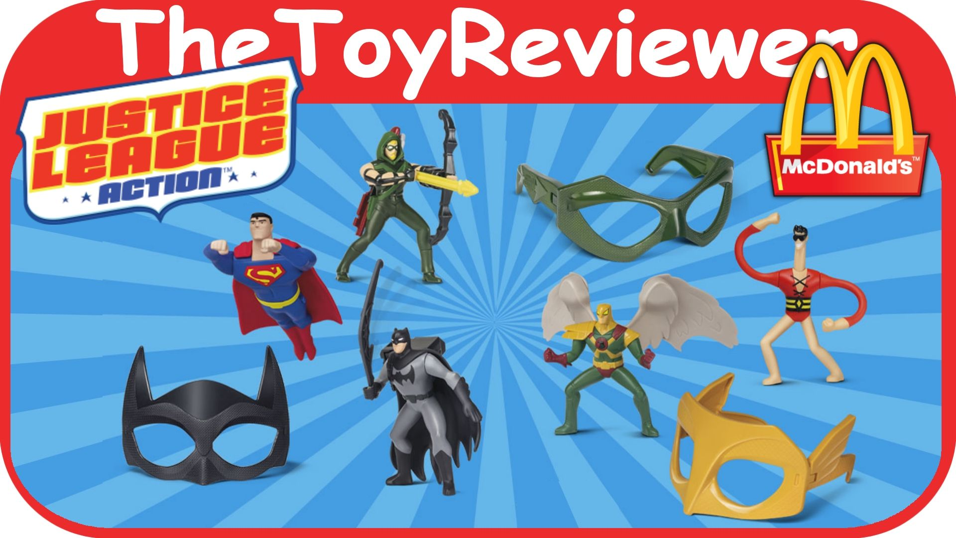 Pin By Thetoyreviewer On Thetoyreviewer Videos Happy Meal Toys Justice League Happy Meal Mcdonalds