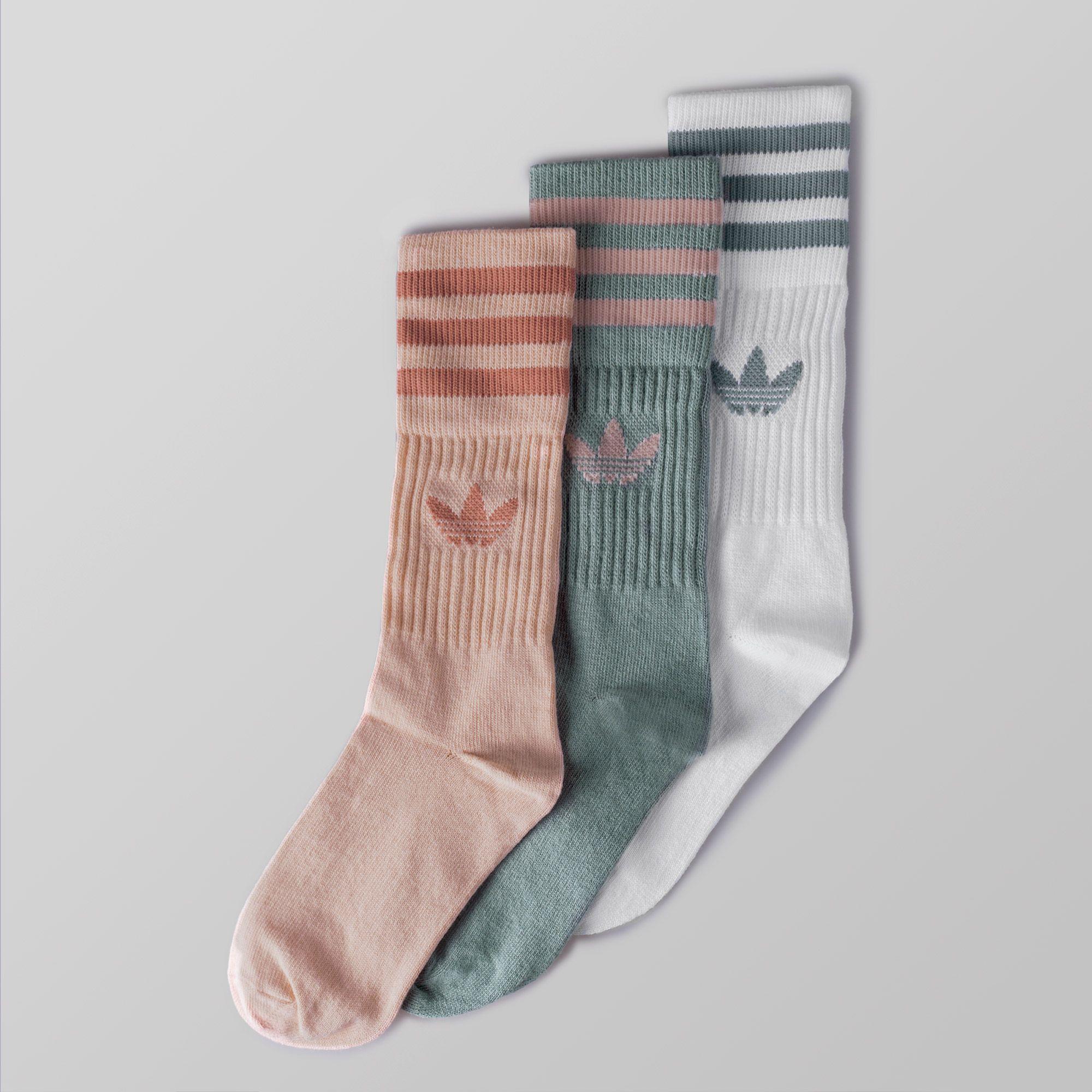 Pastel Camo Crew Socks 3 Pairs #autumnseason