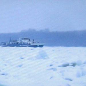 Mađarski ledolomci na Dunavu kod Dalja u borbi s ledom (6)