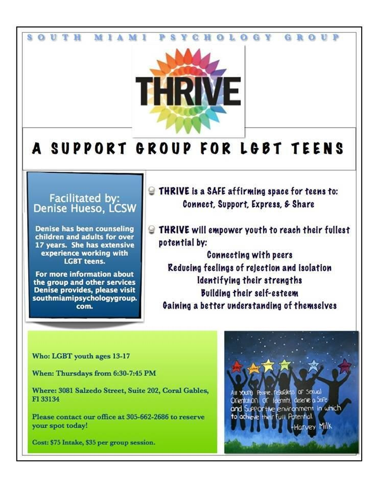 Gay and lesbian support groups