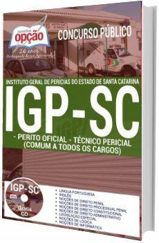 Apostila Igp Sc 2017 Perito Criminal Concurso Apostilas Para