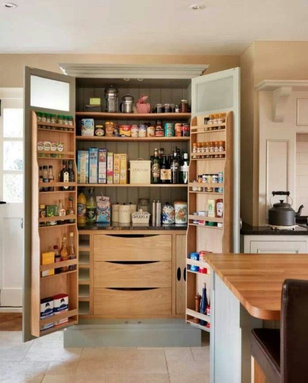 20 Innovative And Amazing Kitchen Storage Ideas 1000 Ideas About Brown Painted Cabinets On Pinte Kitchen Pantry Design Pantry Design Kitchen Pantry Furniture