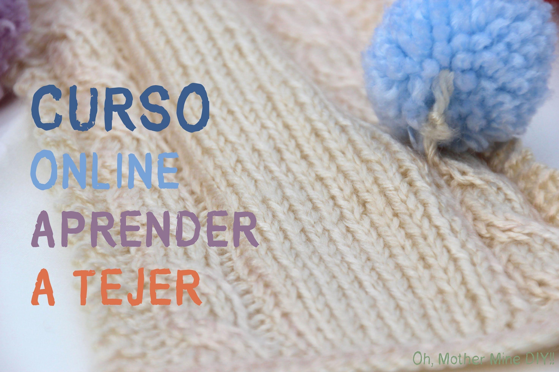 Clase 1ª Correspondencia De Agujas Yarn Tutorials Finger Knitting Diy Sewing