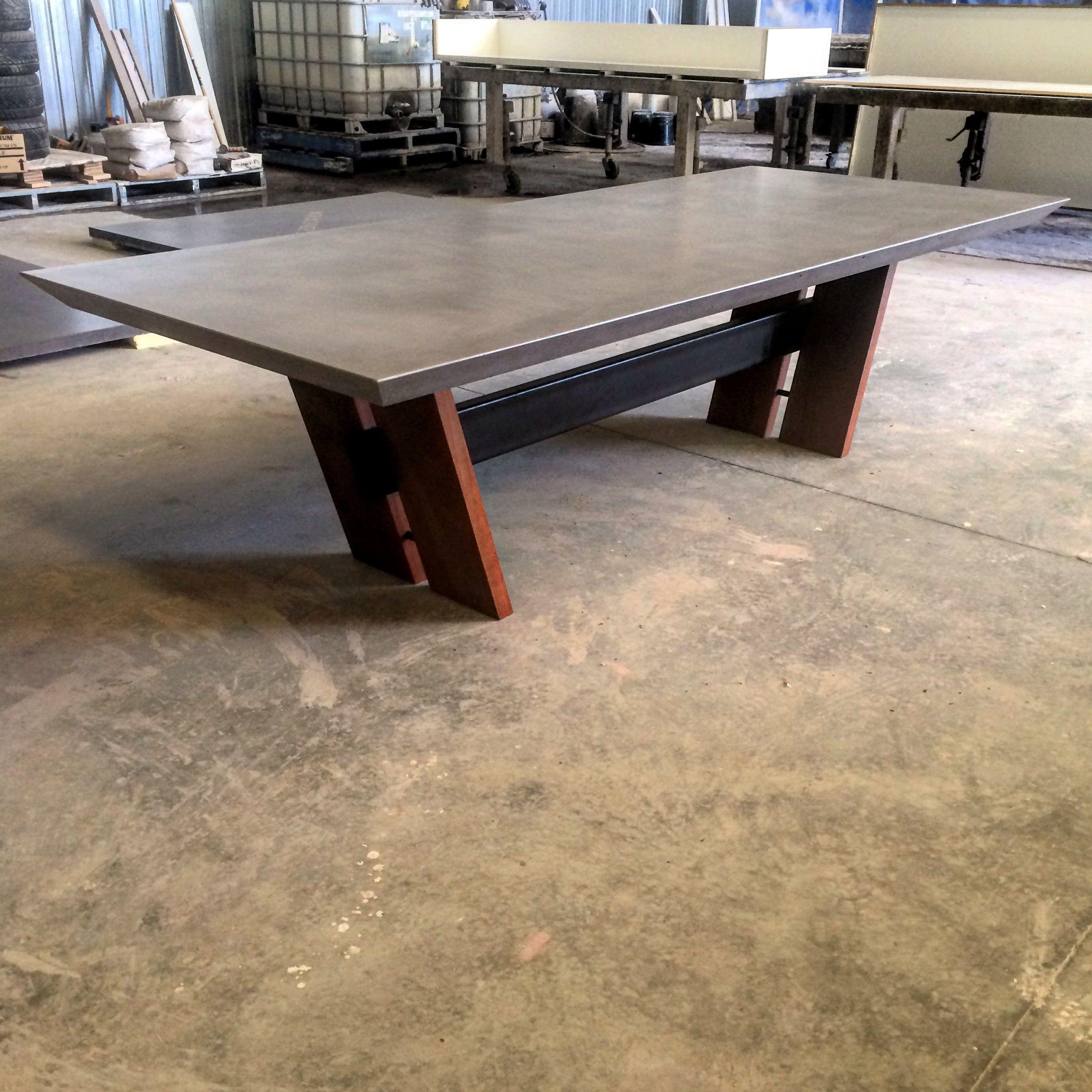 Polished Concrete Table By Mitchell Bink Concrete Design.   Concrete  Furniture   Pinterest   Concrete Table, Polished Concrete And Concrete  Design