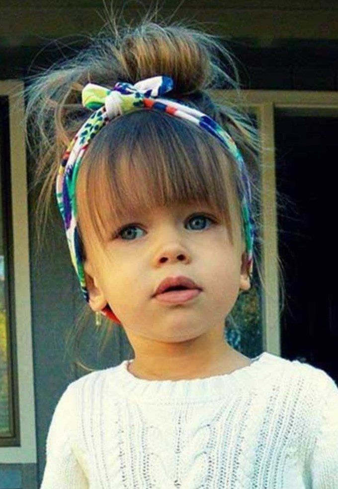 Coiffure petite fille 3 ans. Coiffure cheveux Idee