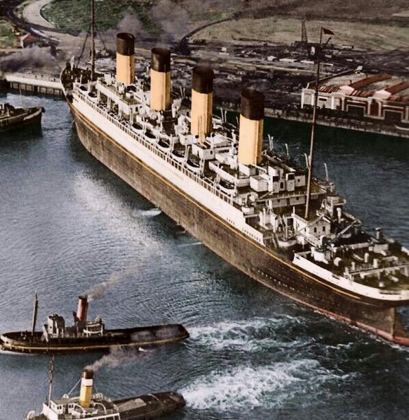 Rms Olympic: Cunard's RMS Olympic, Elder Sister Ship Of The Titanic