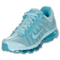 Nike Air Max 2009 Des Femmes De Chaussures De Course Coquillage Bleu / Bleu Turquoise