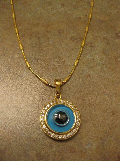 Evil Eye Jewelry Necklace By Novelanoveltynotions 85 00