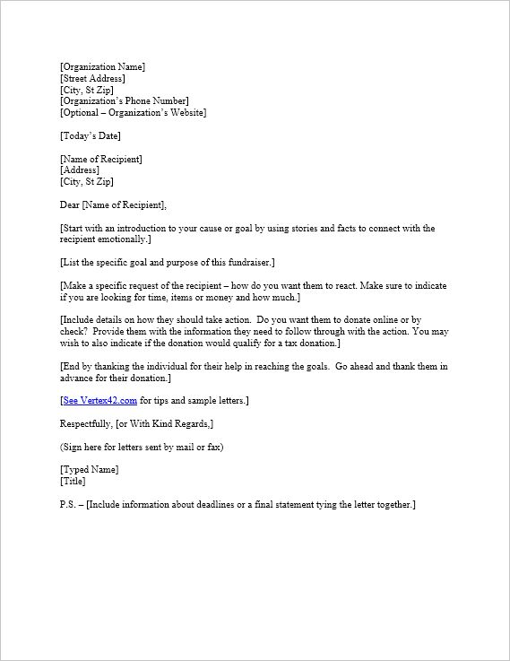 How To Write A Donation Request Letter -   wwwvalery-n