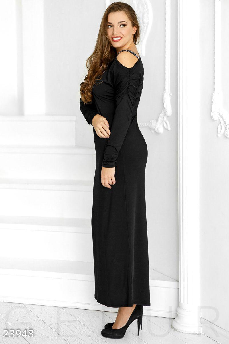 f35ac21d3b7 Купить прямое платье-макси 23948 недорого интернет-магазин в Украине