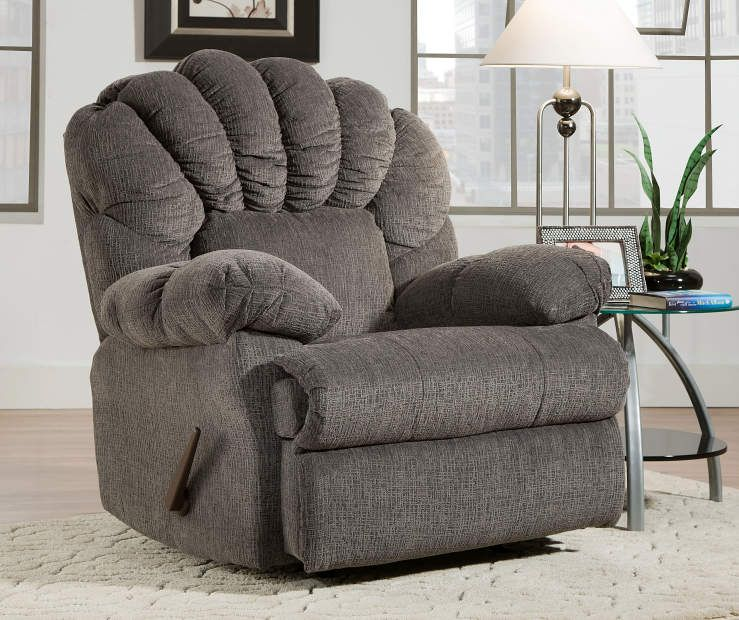Stratolounger Newcastle Gray Recliner Big Lots In 2021 Grey Recliner Recliner Recliner Chair