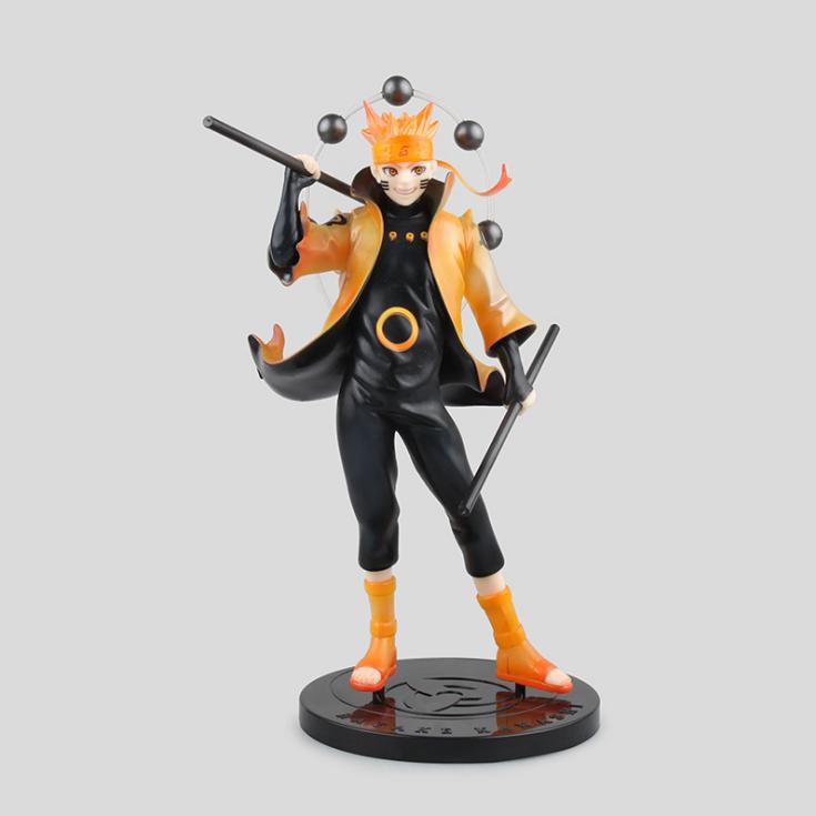 Anime Naruto Rikudo Sennin Mode Uzumaki Naruto Pvc Action Figure