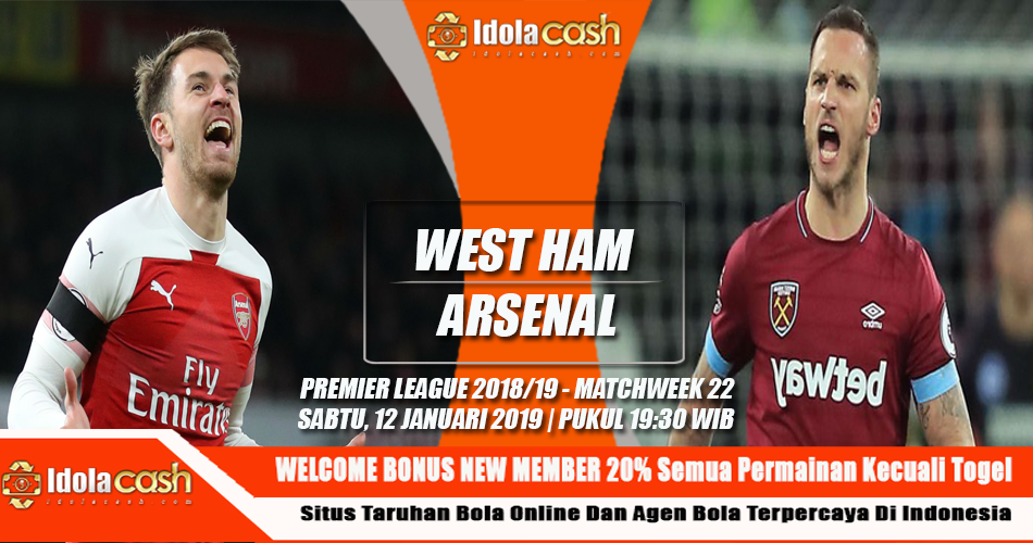 Prediksi West Ham vs Arsenal 12 Januari 2019 #AgenBola #