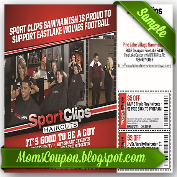 It is a graphic of Fabulous Sports Clip Coupon Printable
