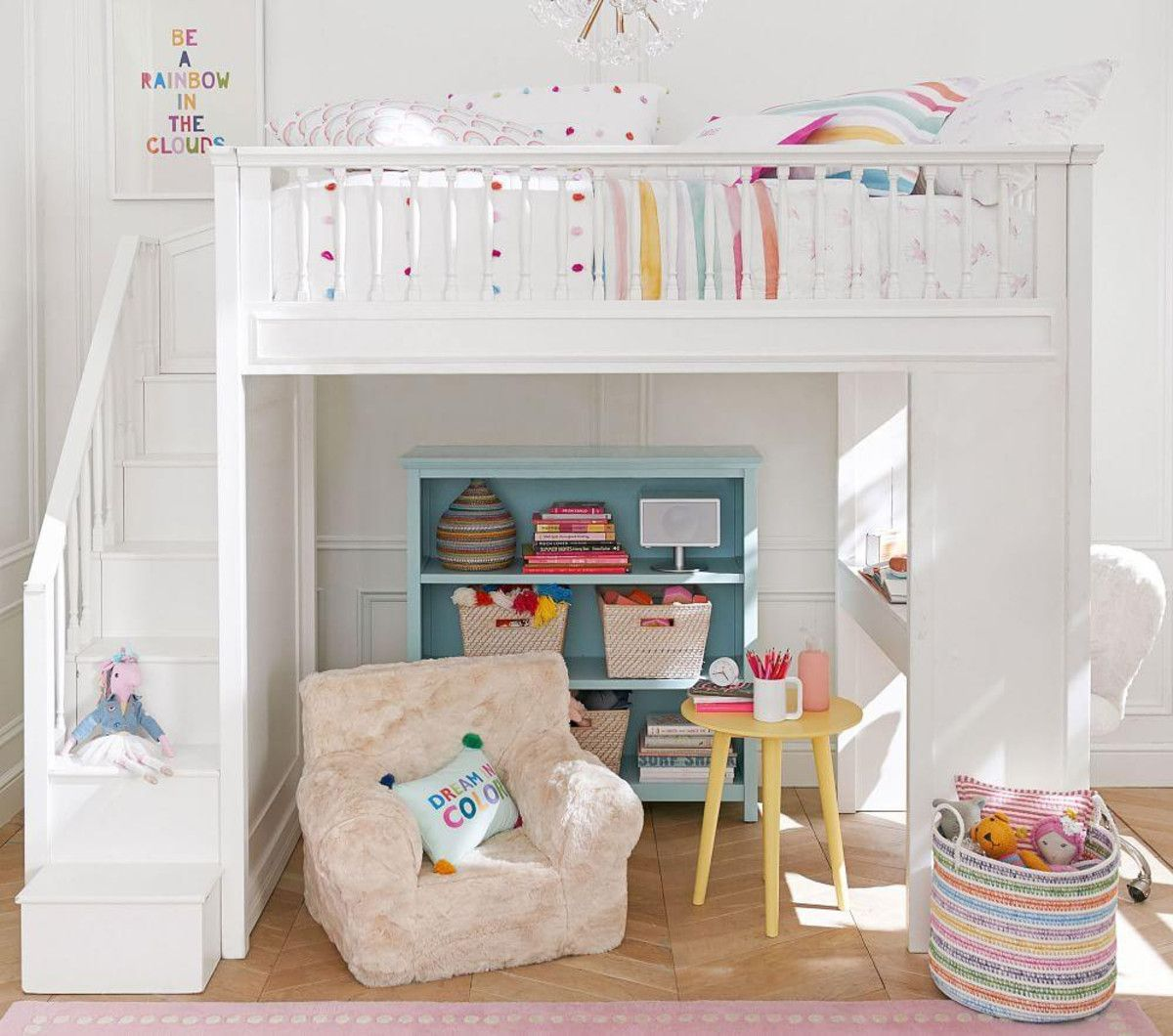 Fillmore Stair Loft in 2020 Small room bedroom, Bunk bed