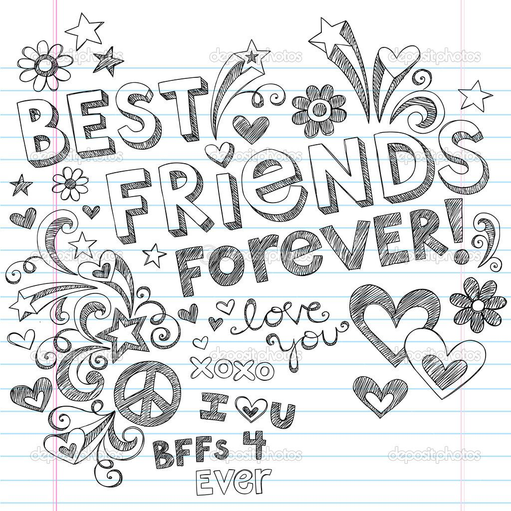 Each Bff Color Element Best Friends Forever Bff Back To School