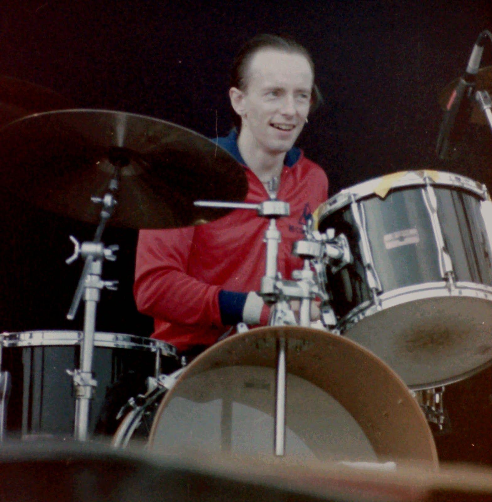 Topper Headon (& Band) Belga-festival Oostende België augustus '86