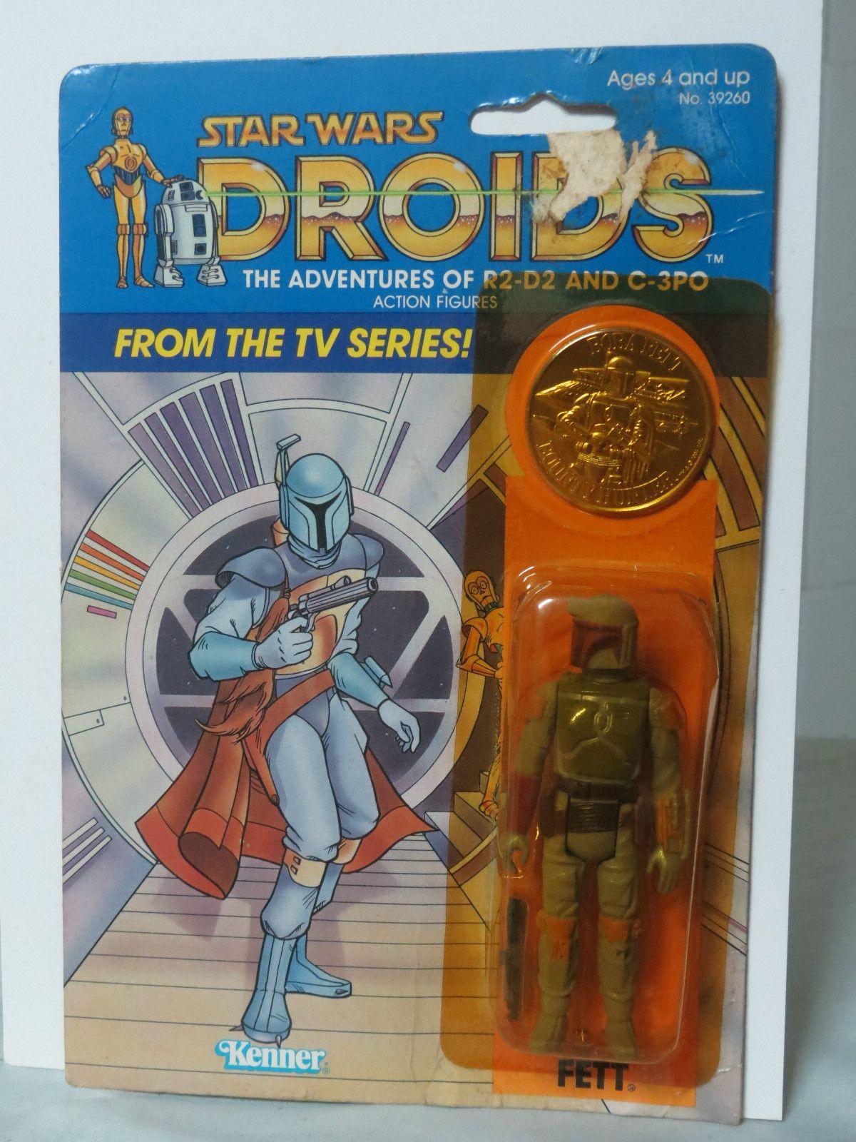Boba Fett 1985 DROIDS Series STAR WARS Custom Made Card MOC #2