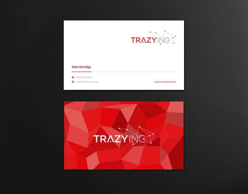 freelance Slick business card for Agile tech startup (logo already ...
