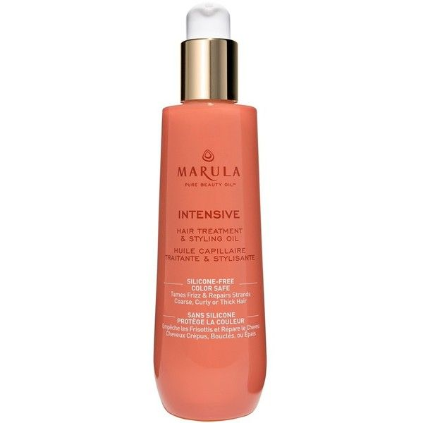 Women's Marula Pure Beauty Oil Hair Treatment & Styling Oil (60 AUD) ❤ liked on Polyvore featuring beauty products, haircare, styling products, intensive and marula