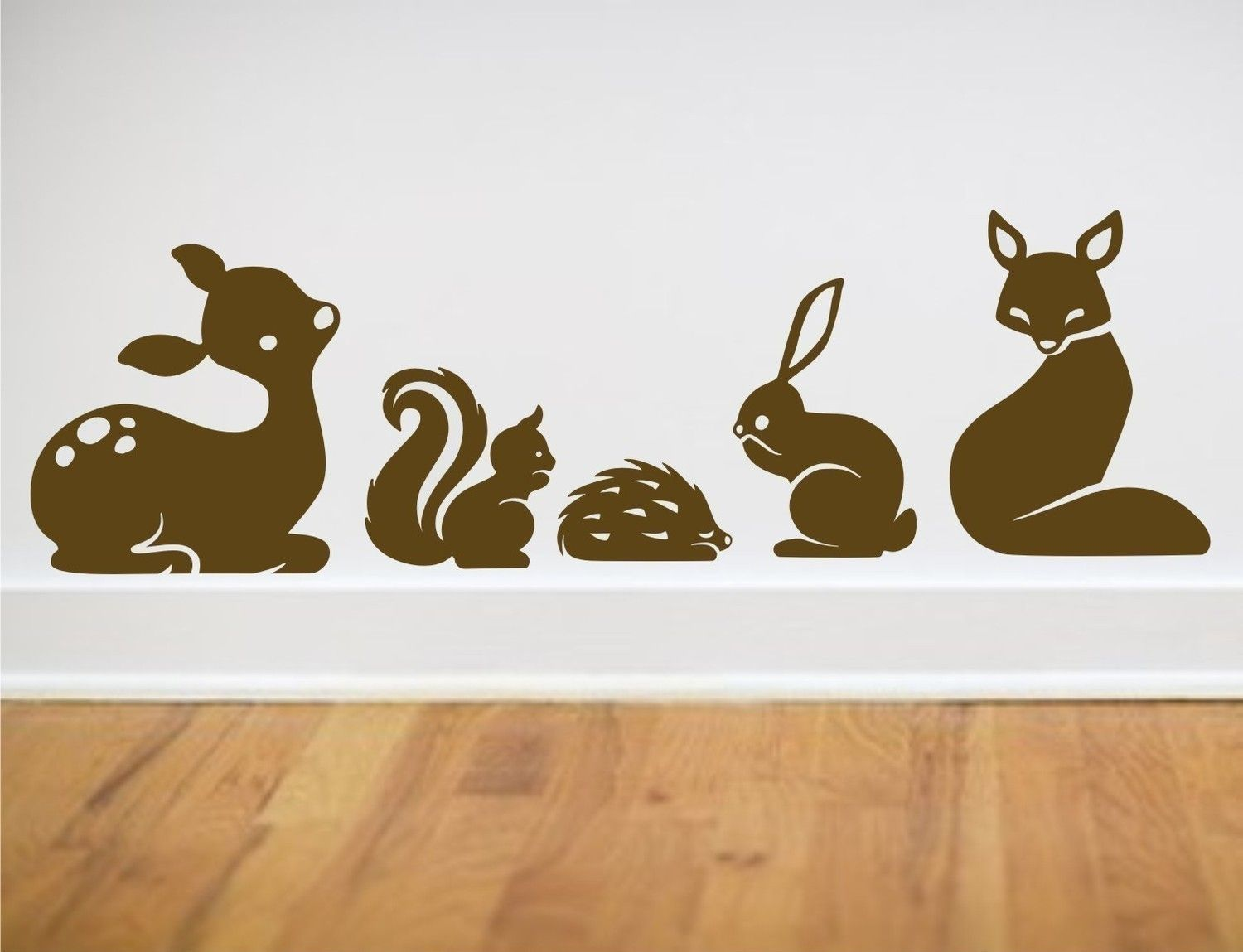 Deer Skunk Hedgie Rabbit Fox Kids Room Pinterest - Vinyl wall decals australia