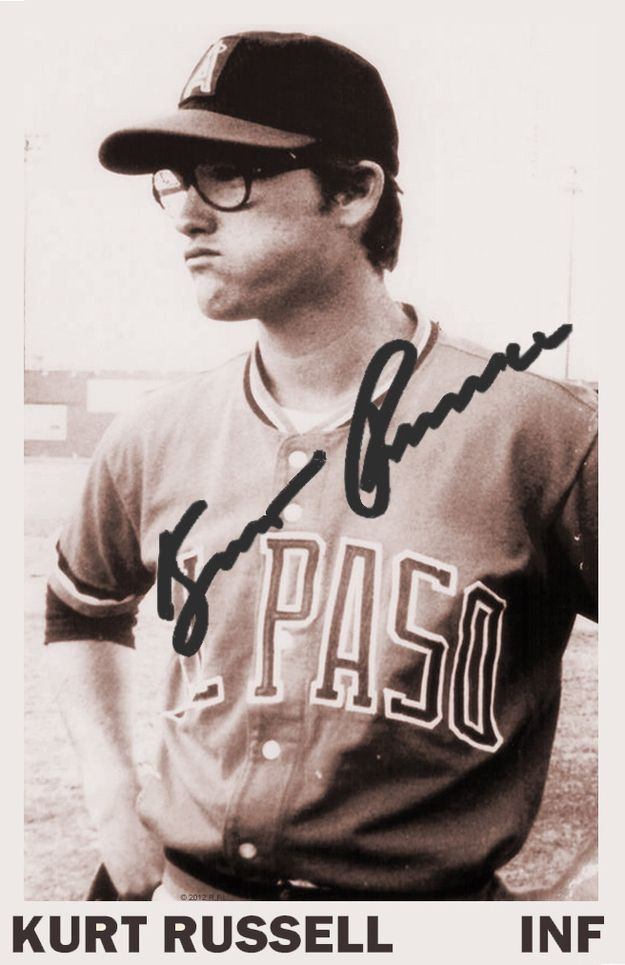 0aadb36f44d5f Kurt Russell was a .292 hitter during 4 years in the minors ...