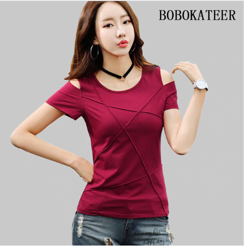 08c85311a12e36 t shirt women tops tee shirt femme camisetas mujer 2019 | T-shirt ...