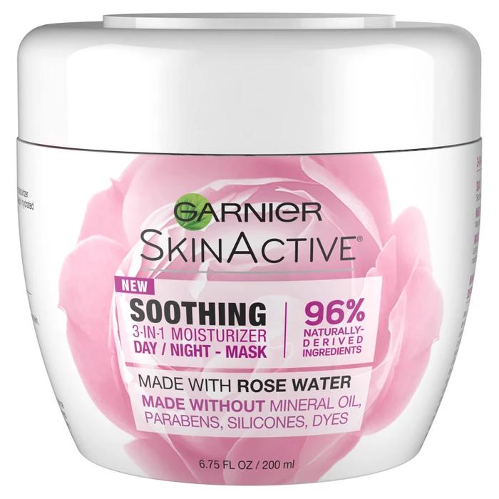 Garnier Skinactive 3 In 1 Face Moisturizer With Rose Water 6 75 Fl Oz Garnier Skin Active Face Moisturizer Moisturizer