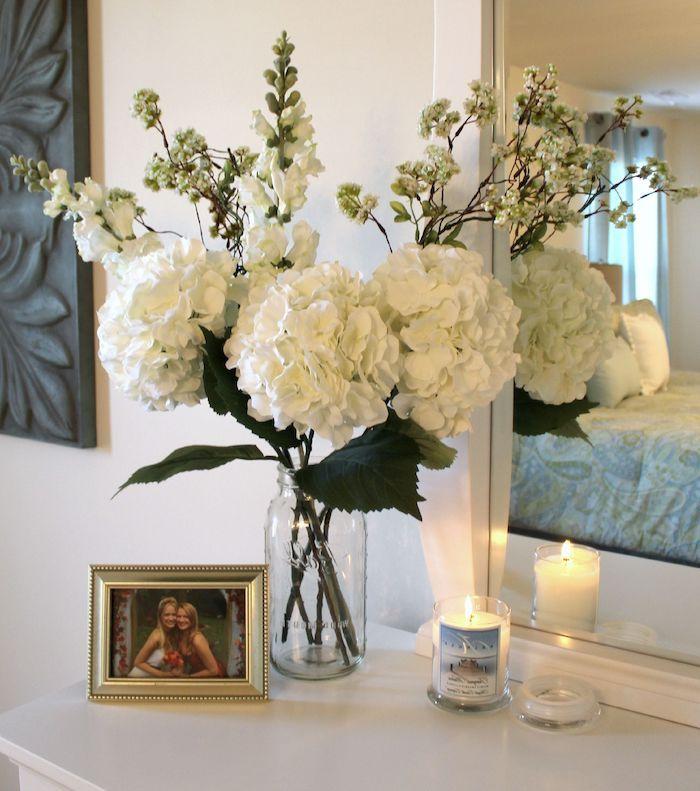 schlafzimmer deko bildideen und anleitungen boden white flowers new ideas set of also master bedroom decor bentleyblonde house tour home in rh pinterest