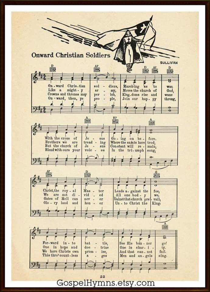 Onward Christian Soldiers Vacation bible school songs