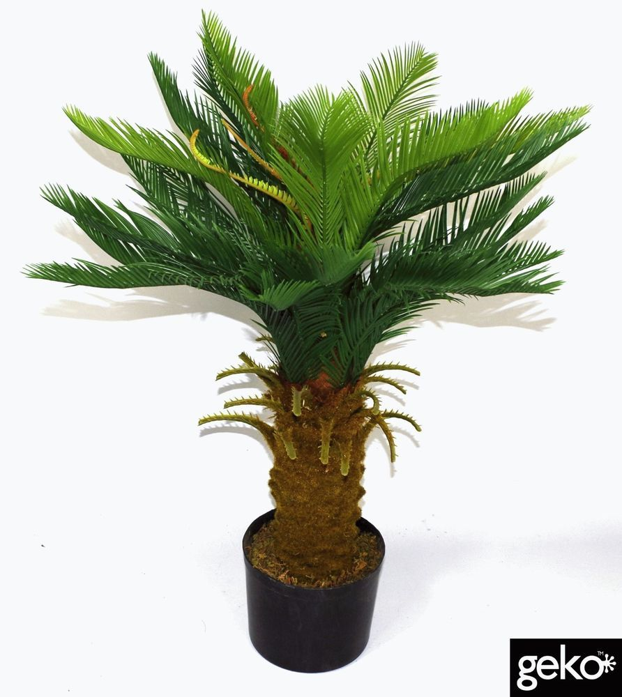 Artificial palm tree decorative tropical large cm indoor outdoor