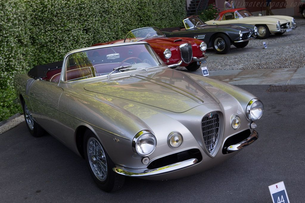 Alfa Romeo 1900C SS Ghia Aigle Cabriolet - Chassis: AR1900 01959 - Entrant: Stephan Bruno - 2014 Concorso d'Eleganza Villa d'Este