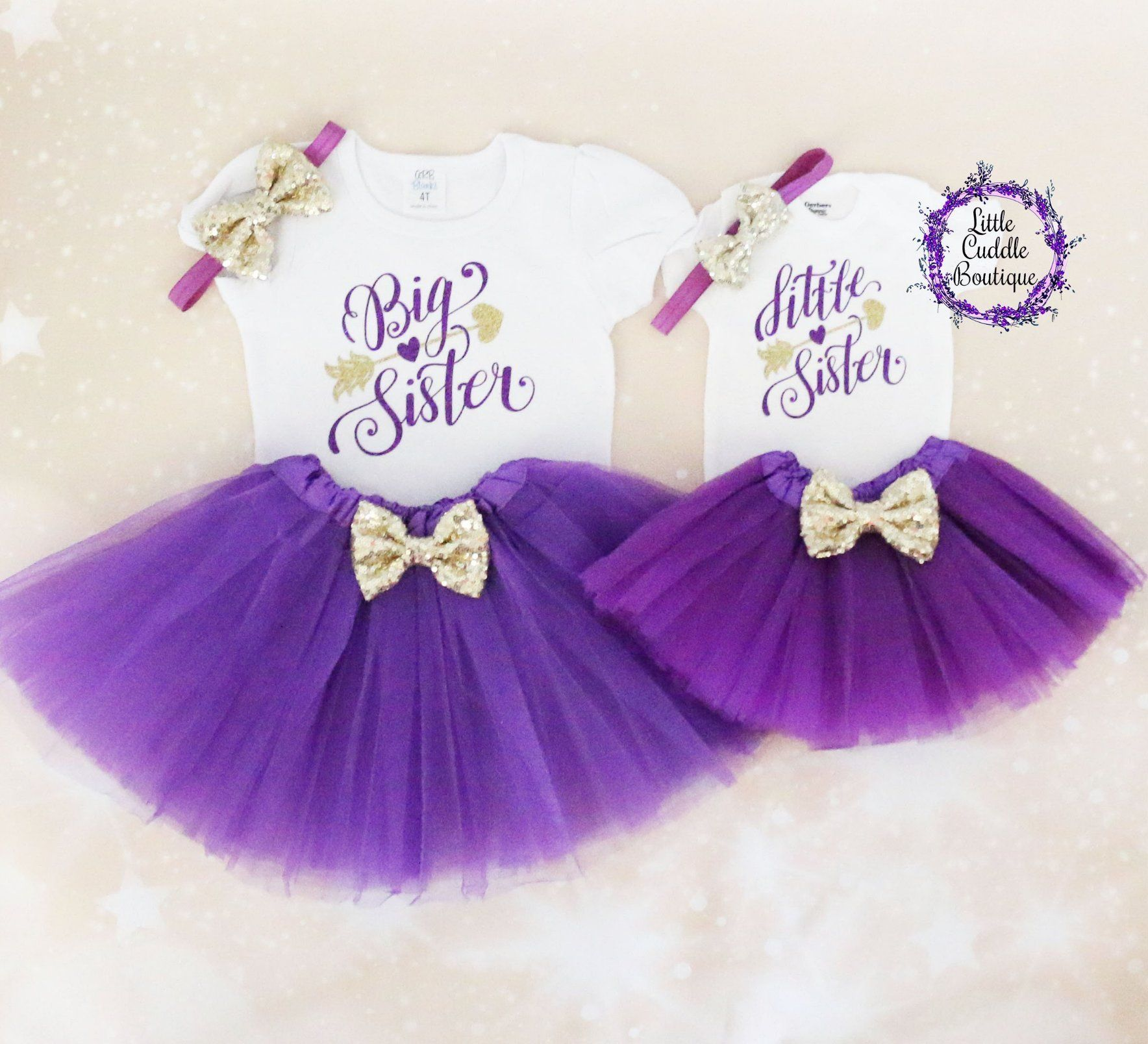 Big Sister Little Sister Tutu Outfits Tutu Outfits Big Sister Little Sister Sister Outfits