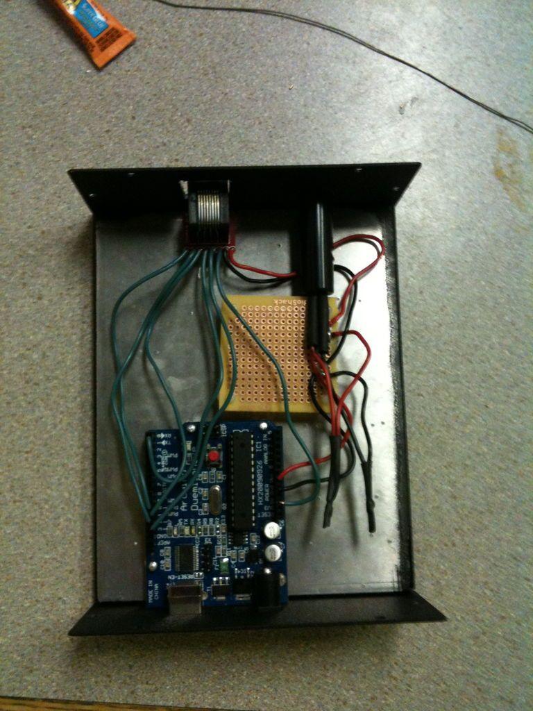 Arduino Rfid Door Lock Arduino Simple Circuit Rfid