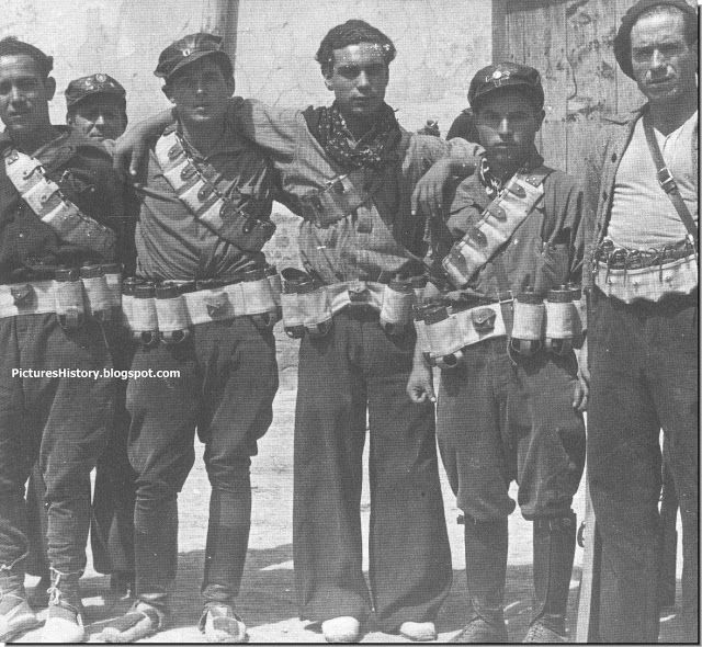 HISTORY IN PICTURES: RARE, UNSEEN PICTURES: BE THERE: The Spanish Civil War