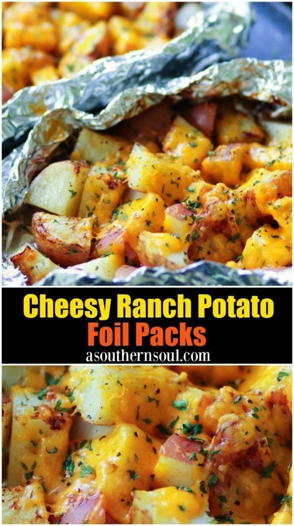 of cheese ranch potato leaves   - Camping food -Packets of cheese ranch potato leaves   - Camping f